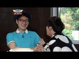 Lee Hong Ki (JongTae) - Eating Chicken Feet (HD)12.04.27